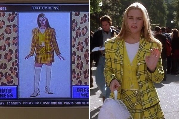 Cher from Clueless Virtual Fitting Room